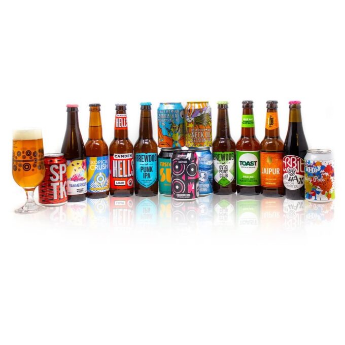 Beer Hunters Sommelier has selected these 15 brilliant craft beers from the UK to introduce you to the diverse world of craft beer. Designed to be a perfect starter pack for those interested in trying a wide variety of different, modern beer styles such as Session IPA, Lager, Pale Ale from some of the finest breweries in Britain, without being too intimidating in terms of wild flavours or stronger alcohol content.