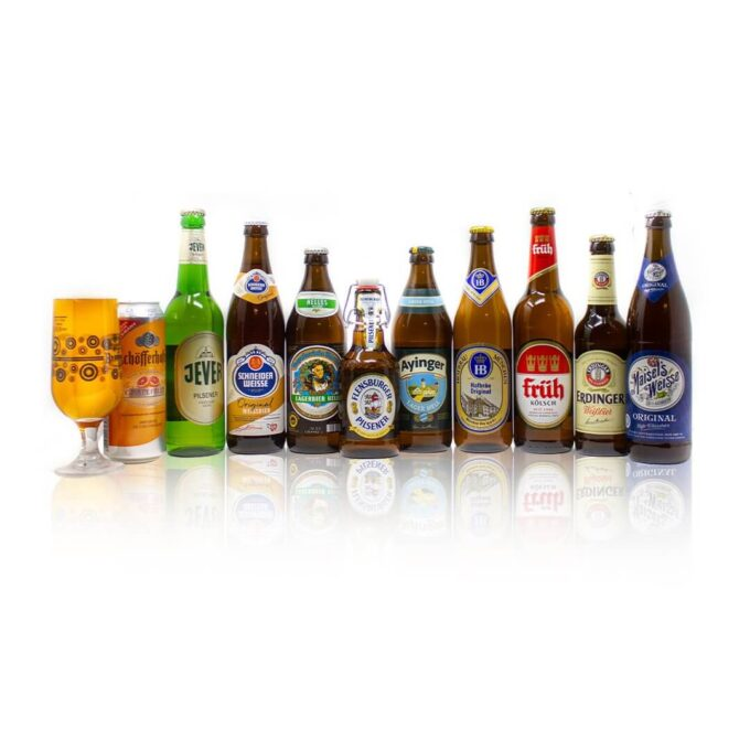 Bring a little bit of the magic from Oktoberfest to your own door with this special case containing ten bottles of the finest. These German breweries are amongst the worlds leading in producing some of the finest wheat beer on the market.