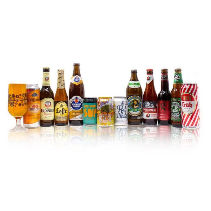 Travel the globe from the comfort of your own home with these 12 brilliant craft beers from across the world to introduce you to the diverse land of craft beer. Designed to be a pallet cleanser for those interested in trying a wide variety of different, modern beer styles such as Session IPA, Lager, Pale Ale from some of the finest breweries the world has to offer. All packed with mouth watering induced flavours leaving you wanting more.