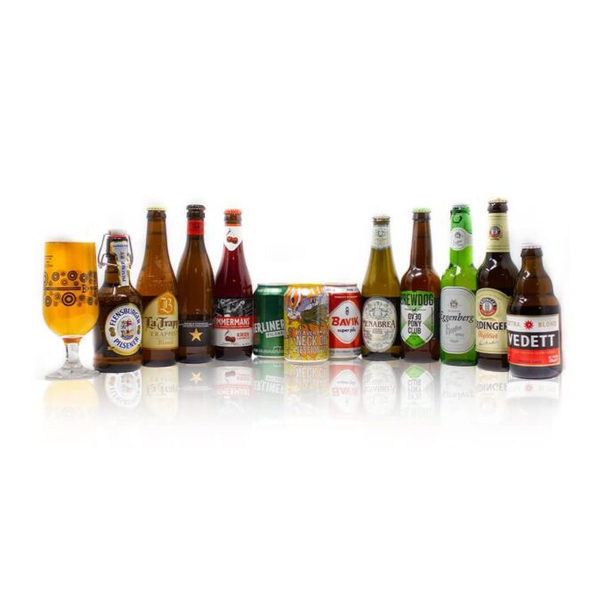 Travel the continent from the comfort of your own home withthese 12 brilliant craft beers from across Europe carefully selected to introduce you to the diverse world of craft beer. Designed to be a perfect starter pack for those interested in trying a wide variety of different, modern beer styles from some of the finest breweries in Europe, without being too intimidating in terms of wild flavours or stronger alcohol content.