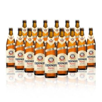 Erdinger Weissbier is the classic wheat beer, packed with flavour. There's a reason is the largest selling wheat beer on the market today.