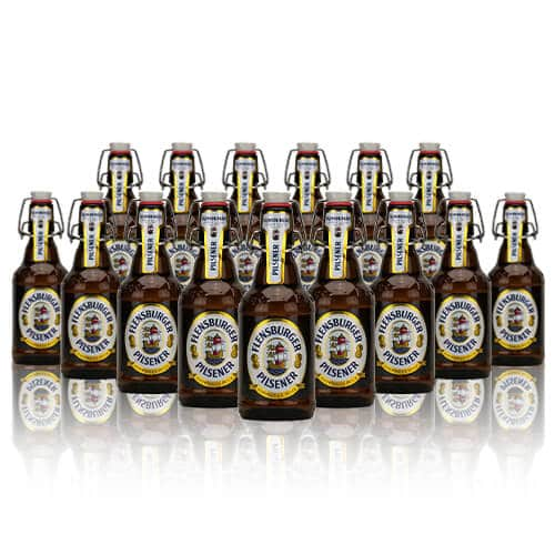A Flensburger Pilsener beer for the masses and this one doesn't disappoint. This easy drinking Flensburger also has caramel notes with hints of lemongrass.