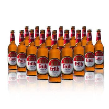 Fruh Kölsch is packed with refreshing flavours that is ridiculously easy to drink and boasts a very clean, crisp taste. Perfect on a summers day.
