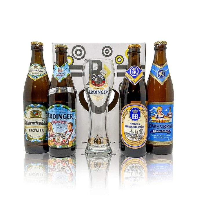 This Oktoberfest gift set is the perfect tasting kit to discover the true taste of Oktoberfest. So celebrate from home this year!