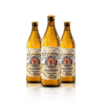 Paulaner Munchen Oktoberfest Bier Limited Edition. Ever since 1818, Paulaner have brewed their bottom-fermented Oktoberfest Bier...