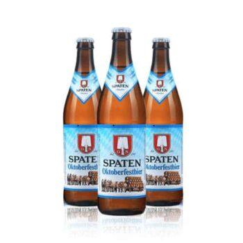 Spaten Oktoberfest beer is the world's first Oktoberfest beer. Brewed for the greatest folk festival in the world.