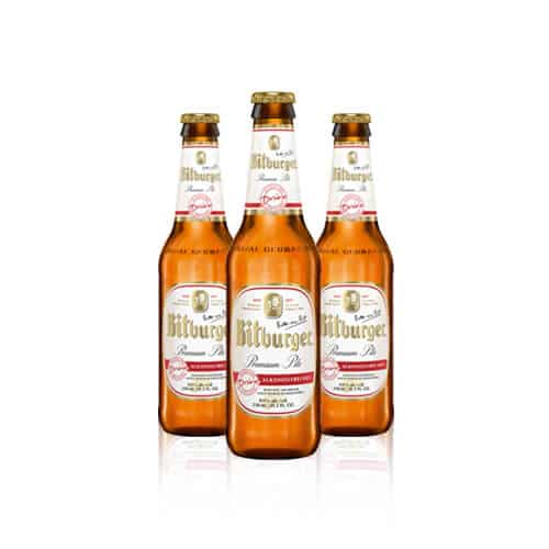 Germany's most popular draft beer. This alcohol-free beer has all the flavour of a true German pilsner with only 72 calories.
