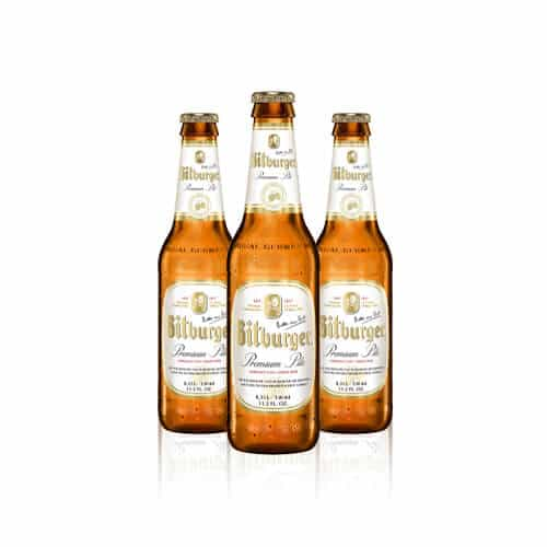 Germany's most popular draft beer. This pilsner is unmistakably tangy, crisp & refreshing.