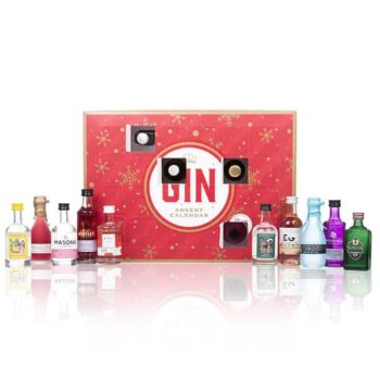 Christmas Gin Advent Calendar 2020 - 24 Miniature Gins